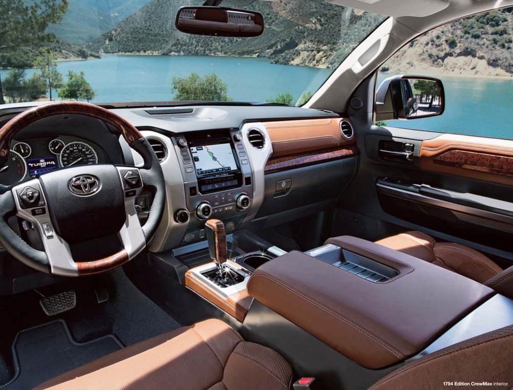 Toyota Tundra 1794 Edition 2015 Car Interior Design