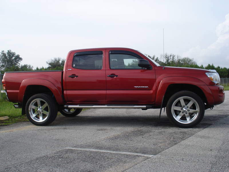 2008 Tacoma In Impulse Red Pearl Shop For A Toyota In
