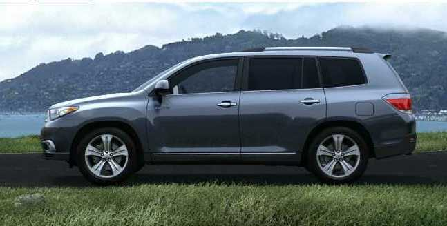 2012 Highlander In Shoreline Blue Pearl Shop For A