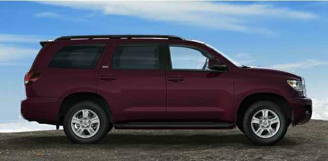 2012 Sequoia In Sizzling Crimson Mica Shop For A Toyota