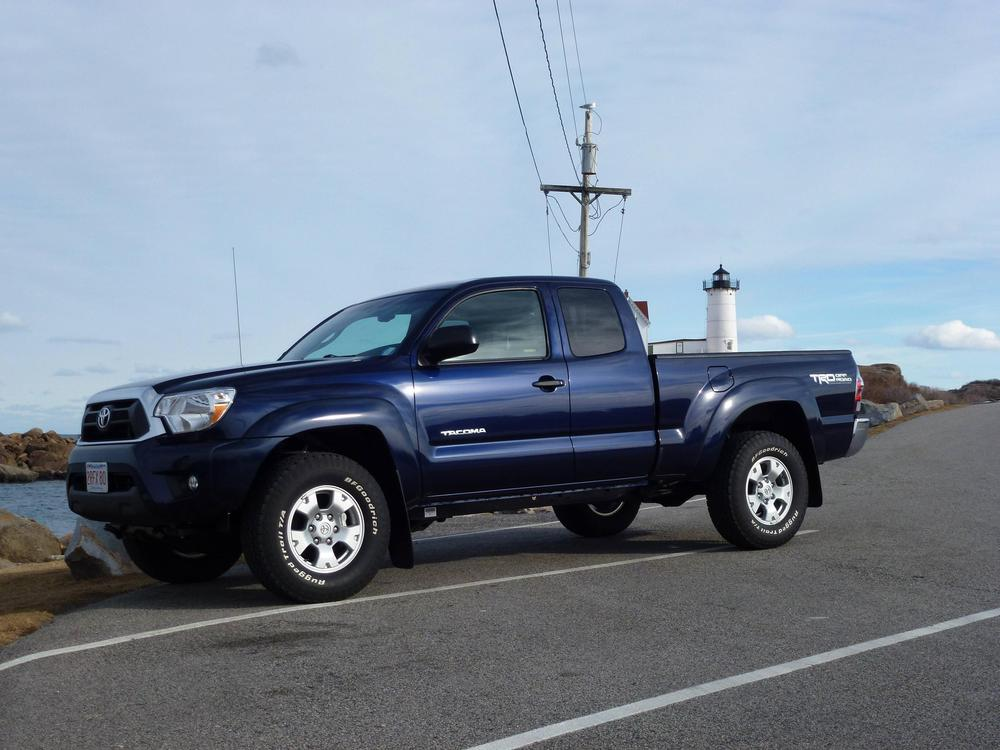 2013 Tacoma in Nautical Blue Metallic - Shop for a Toyota in Houston