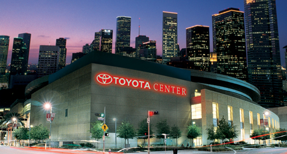 rockets shop toyota center. Black Bedroom Furniture Sets. Home Design Ideas