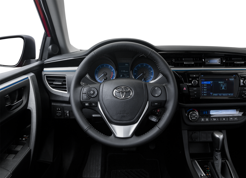 2016 Toyota Corolla Steering Wheel Controls The Lets You Stay In Command Will Mounted