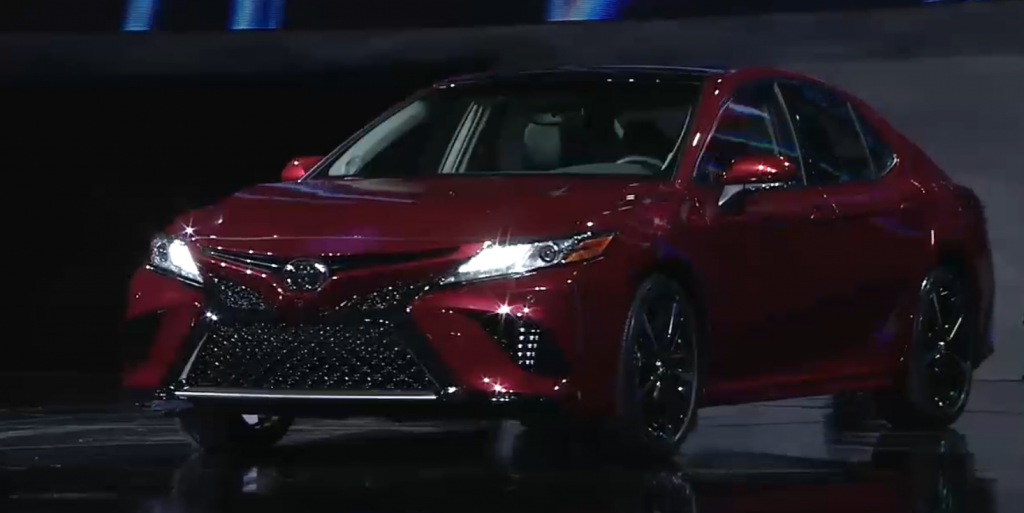 The 2018 Toyota Camry Officially Revealed