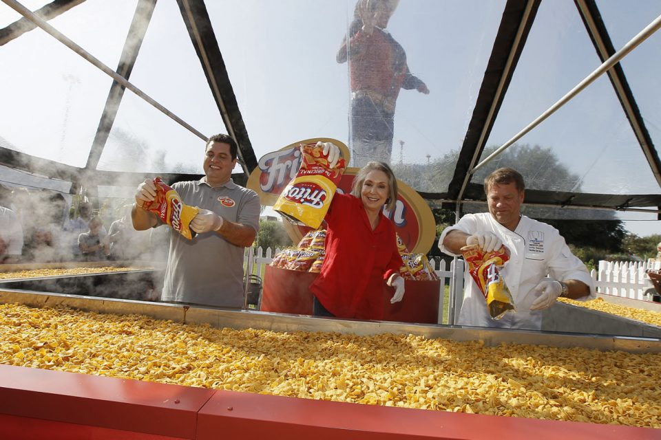 Largest Amount of Frito pie Dallas Frito-Lay