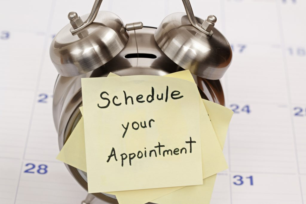 Appointment Reminder at collision center